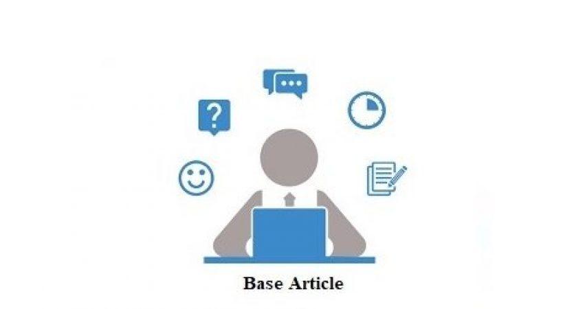 چگونگی پیدا کردن مقاله بیس و عنوان برای پایان نامه